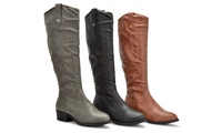 Sociology Women's Masie Riding Boots | Gropuon Exclusive
