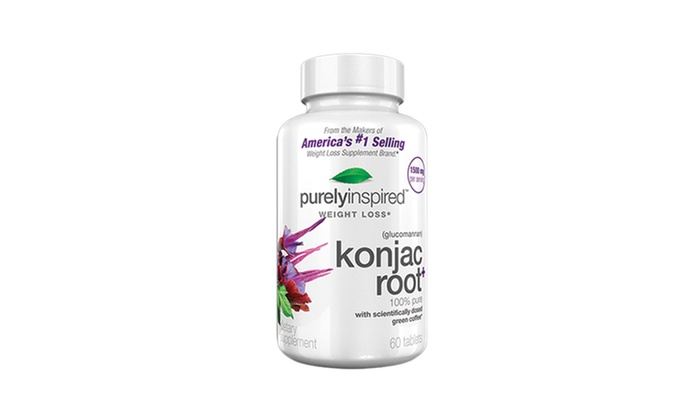 Buy 2 get 1 Free: Purely Inspired Konjac Root Supplements: $9.99 for 1 Bottle of Purely Inspired Konjac Root Supplements or $19.99 for 2 Bottles with 1 Bottle Free.