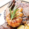 20oz TBone Steak and Prawns