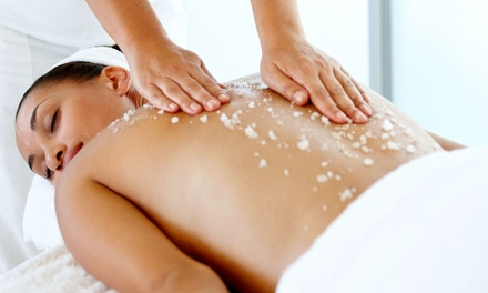 One or Two Green-Tea Body Scrubs and Massages at Whole Health Medical Center (Up to 63% Off)