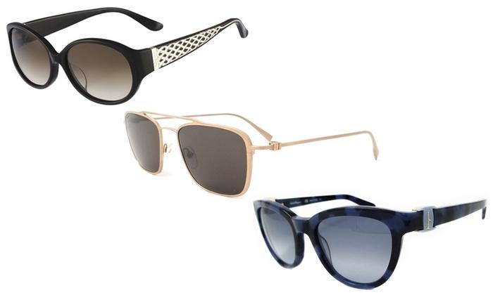 Sunglasses On Sale, Gold, 2017, one size Salvatore Ferragamo