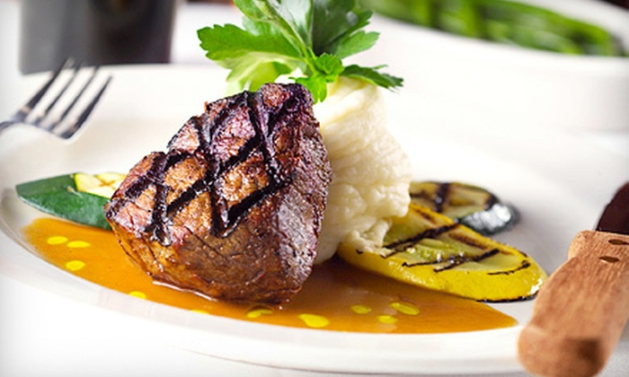 Alibi - St. Charles: $10 for $20 Worth of Upscale Grill Fare at Alibi in St. Charles