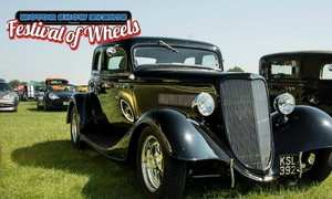 Motor Show Events: Festival of Wheels, 4–5 August at Trinity Park (Up to 25% Off)