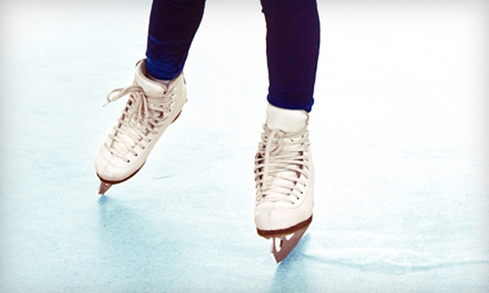 Kansas City Ice Center - Shawnee: Ice-Skating for Two, Four, or Six, or Six Weeks of Ice-Skating Lessons at Kansas City Ice Center (Up to 56% Off)