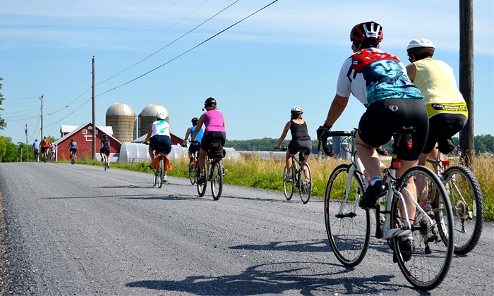 Vermont Farm Tours - Champlain Islands: 10 or 25-Mile Wine-Tasting Bike Tour on July 12 from Vermont Farm Tours (Up to 43% Off)