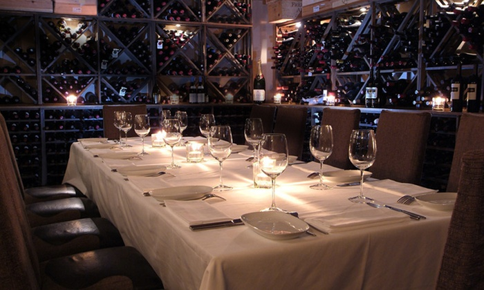 C Restaurant - Downtown Vancouver: $490 for a Private Wine Room with Four-Course Seafood Tasting for Up to 14 at C Restaurant ($980 Value)