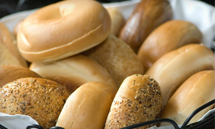 S & A Bagel & Deli - Smithtown: One or Two Dozen Assorted Bagels at S & A Bagel & Deli (Up to 57% Off)