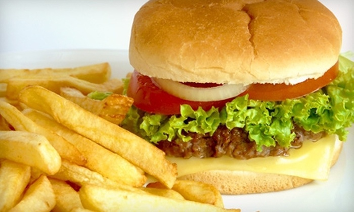 Murf's Frozen Custard & Jumbo Burgers - Lynndale: Jumbo Burger Meal for Two or Four at  in Brookfield (Up to 56% Off)