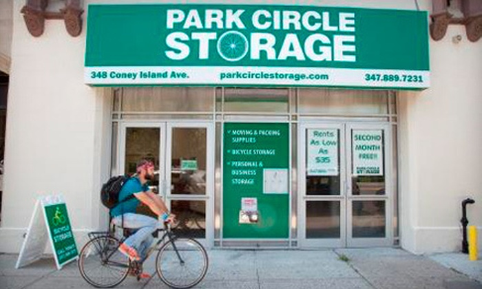 Park Circle Storage - Windsor Terrace: Three Months of Storage in a Loft 5'x4'x4' or 5'x5'x4' Space at Park Circle Storage (Up to 71% Off)