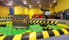 "MoJoBaS Fun Factory - Lenox Park: $15 for Five Admissions to ""The Meltdown"" at MoJoBaS Fun Factory ($20 Value)"