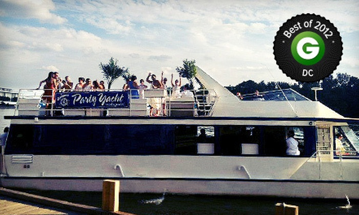 Boomerang Party Yacht - Boomerang Boat Tours: Yacht Cruise with Drink for One, Two, or Four from Boomerang Party Yacht (Up to 51% Off)