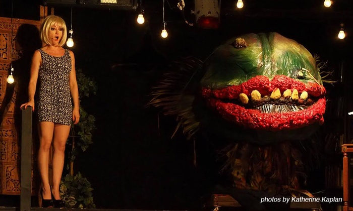"""""""Little Shop of Horrors"""" - Cupcake Theater: """"Little Shop of Horrors"""" at Cupcake Theater on October 3–November 9 (Up to 50% Off)"""