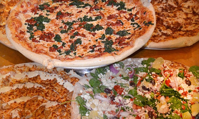 Great Northern Pizza Kitchen - Multiple Locations: Pizzeria Fare or a Pizza Package with Wings and Breadsticks at Great Northern Pizza Kitchen (Up to 52% Off)