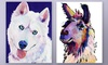 Pat Saunders-White Gallery-Wrapped Canvas Animal Art: Pat Saunders-White Gallery-Wrapped Canvas Animal Art