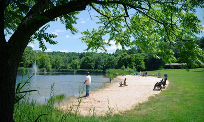 The Great Divide Campground - Newton: $30 Toward Camping