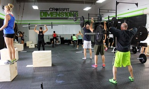 CrossFit Dimensions: One Month of Unlimited On-Ramp Classes for One or Two Beginners at CrossFit Dimensions (Up to 67% Off)