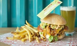 Manforte: Burger 100% ita, patatine, dolce e 1,5 litri di birra artigianale o menu della domenica da Manforte (sconto fino a 55%)