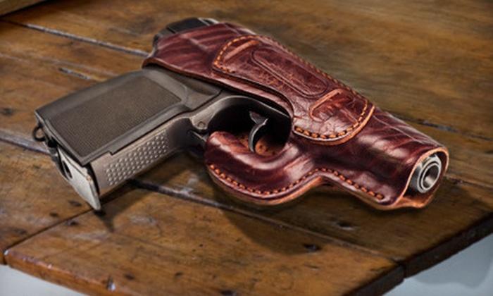 CT Gun Permit - Monroe: $75 for a Utah-Gun-Permit Class and Certification Valid in 33 States at CT Gun Permit ($155 Value)