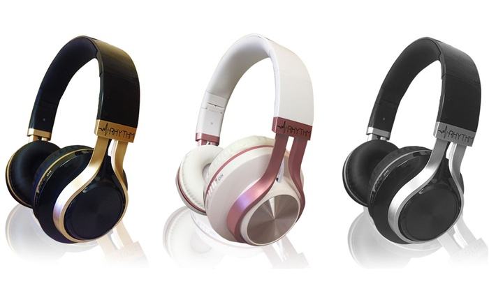 Up To 71 Off On Aduro Wireless Bt Headphones Groupon Goods
