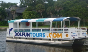 Dol FunTours, LLC: 90-Minute Manatee Tour for Two, Four, Six, or Eight from DolFun Tours (Up to 78% Off)