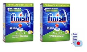 Tablettes vaisselle Finish Powerball Citon tout en 1
