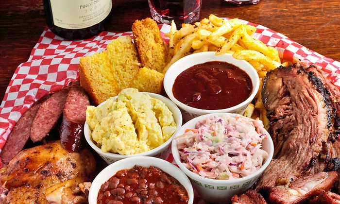 Memphis Blues Barbeque House - Central City: C$12 for C$20 Worth of Barbecue Dinner at Memphis Blues Barbeque House