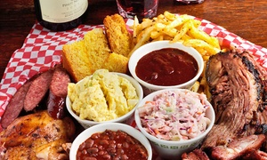 Memphis Blues Barbeque House: CC$12 for CC$20 Worth of Barbecue at Memphis Blues Barbeque House
