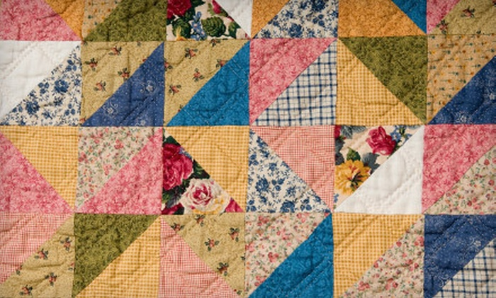 Cottage Quilting - Central City: $20 for $40 or $40 for $80 Worth of Quilting Fabrics and Classes at Cottage Quilting