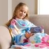 Kids' Cozy Fleece TV Blankets with Pockets