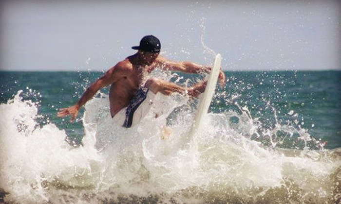 MCG Surfboards - Jacksonville Beach: Two-Hour Surfing Lesson for One or Two or Three Surfing Lessons for One from MCG Surfboards (Up to 61% Off)