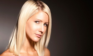 Salon Serenity Hair Design: Keratin Treatment or Haircut and Style with Optional Partial or Full Highlights at Salon Serenity Hair Design (43% Off)