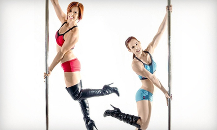 Aradia Fitness - Multiple Locations: One Intro Pole-Dancing Class for One or Two or a Four-Week Pole Course for One or Two at Aradia Fitness (Up to 55% Off)
