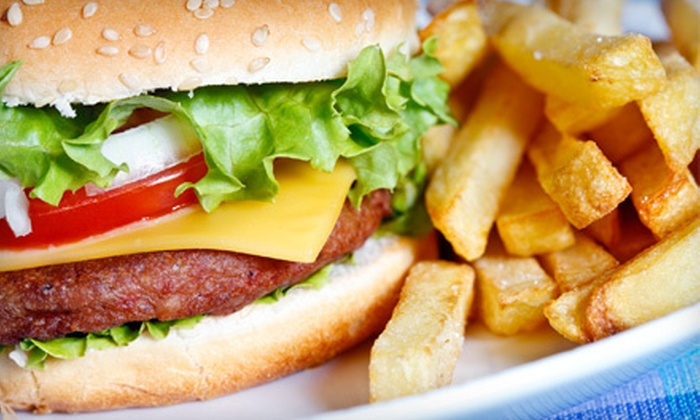 Double E Burger and Ice Cream Shoppe - The Double E-Burger and Ice Cream Shoppe: Classic American Food at Double E Burger and Ice Cream Shoppe (Half Off). Two Options Available.