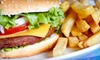 The Double E-Burger and Ice Cream Shoppe - The Double E-Burger and Ice Cream Shoppe: Classic American Food at Double E Burger and Ice Cream Shoppe (Half Off). Two Options Available.