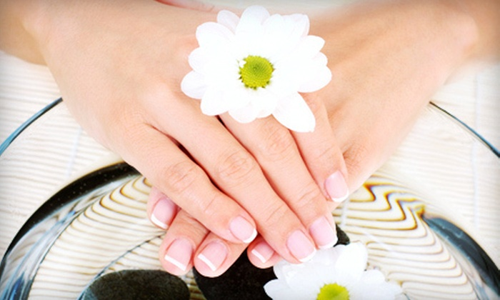 ToniG Salon & Spa - Skokie: One or Two Custom Mani-Pedis with Foot Massages at ToniG Salon & Spa (Up to 55% Off)