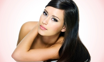 Haircut and Keratin Conditioning with Optional Color or Highlights at Domaniti's Hair Studio (Up to 59% Off)
