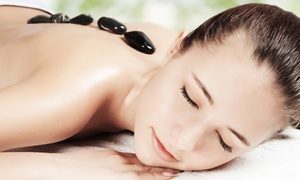 Fab Beauty: Aromatherapy, Hot Stone, or Full-Body Massage With Optional Facial at Fab Beauty (Up to 40% Off)