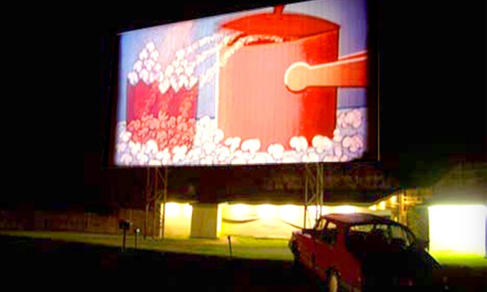 Hathaway's Drive-In Theatre - Hoosick: $15 for a Drive-In Movie with Popcorn and Soda for Two at Hathaway's Drive-In Theatre in North Hoosick (Up to $35 Value)