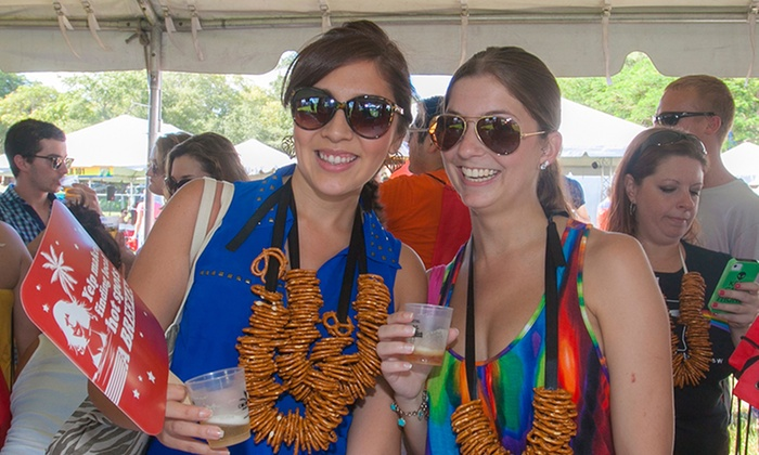 Grovetoberfest - Peacock Park: $39 for a Beer Socialite Admission Package for One at Grovetoberfest on October 18 (Up to $70 Value)