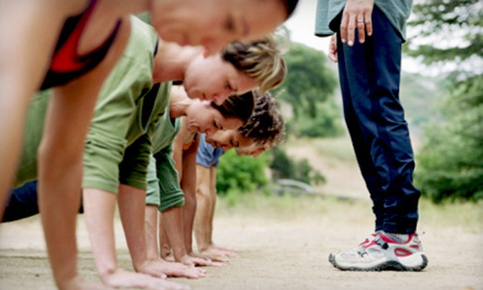 Lake County Boot Camps - Lakemoor: $40 for Four Weeks of Classes at Lake County Boot Camps in Lakemoor ($227 Value)