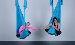 Yoga on High: Five or Ten Yoga and Aerial Yoga Classes at Yoga on High (Up to 65% Off)