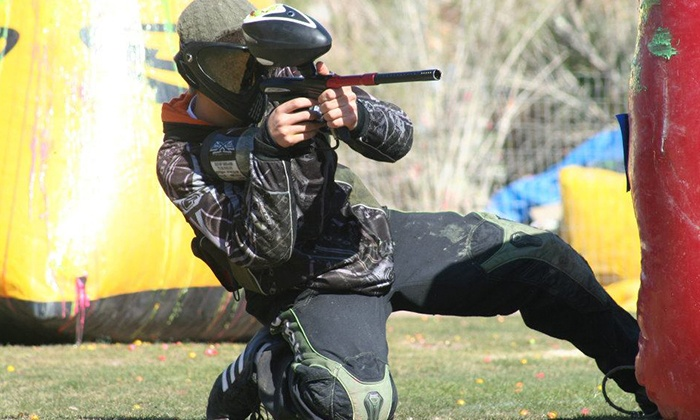 Cowtown Paintball - Peoria: All-Day Paintball Package for Two or Four with Equipment Rental and Paintballs at Cowtown Paintball (Up to Half Off)