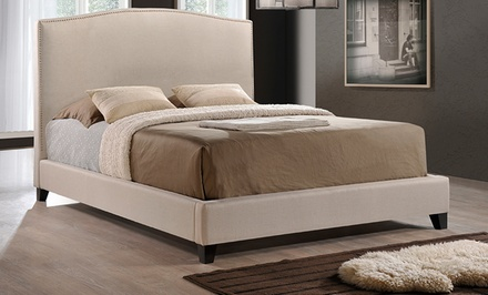 Aisling Upholstered Platform Beds with Headboards from $379.99–$429.99