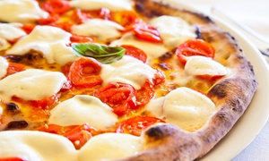 Boardwalk Pizza: Pizza and Sandwiches for Lunch or Dinner at Boardwalk Pizza (Up to 50% Off). Two Options Available.