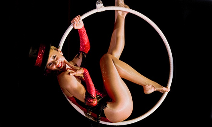 Femme Fatale Fitness - Centerville: 10 Circus-Workout Classes or a 5-Week Intro Aerial-Silks or Aerial-Hoop Course at Femme Fatale Fitness (Up to 75% Off)