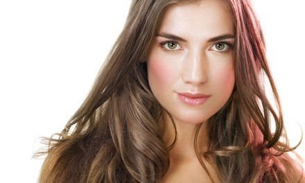 Moroccanoil Deep-Conditioning with Optional Blow-Dry at Hair By Jill VanVooren (Up to 55% Off)