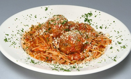 Italian and Louisianan Cuisine for Lunch or Dinner  at DeAngelos (40% Off). Two Options Available.