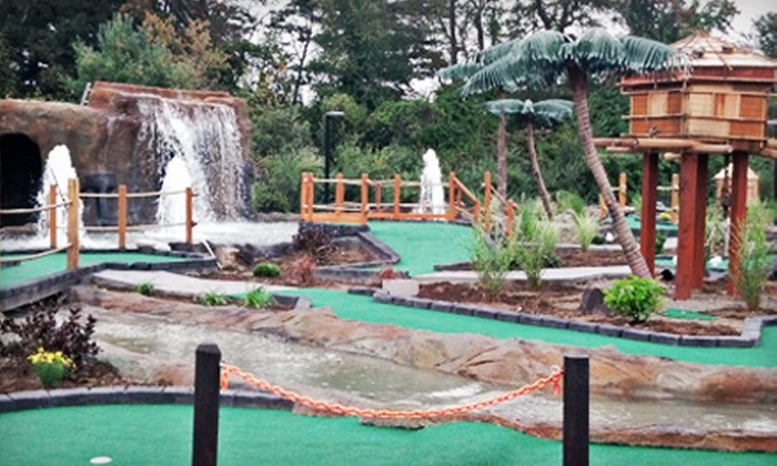 Merrimack Valley Pavilion - Silver Lake: Mini Golf and Ice Cream for Two or Four or Laser Tag for Two at Merrimack Valley Pavilion (Up to 53% Off)