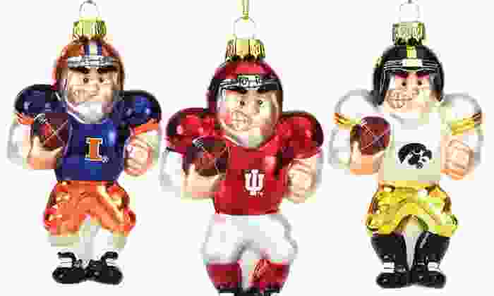 NCAA Player Ornaments: NCAA Player Ornaments. Multiple Teams Available. Free Returns.