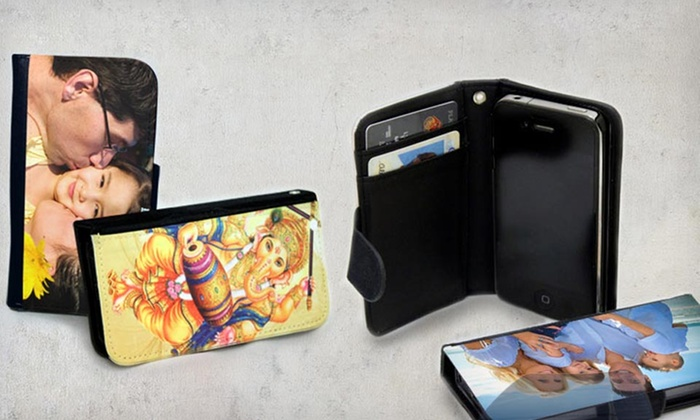 the latest 34497 d8e76 Custom Phone Wallet Cases (60% Off). Multiple Options Available. Free  Shipping.